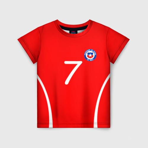 Детская футболка 3D Chile