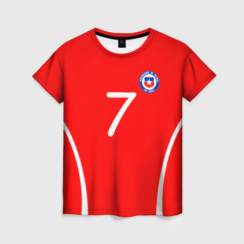 Женская футболка 3D Chile