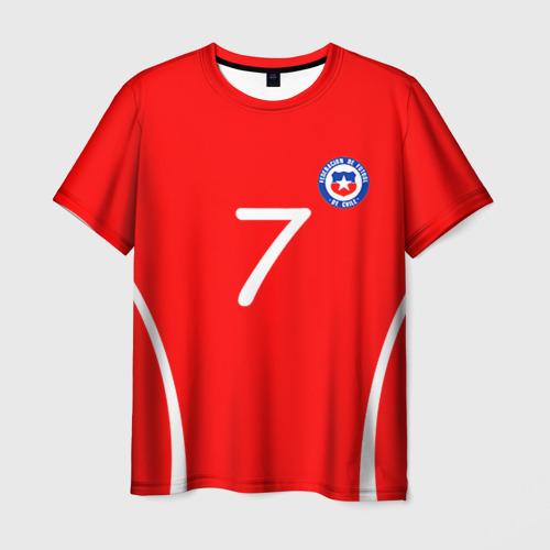 Мужская футболка 3D Chile