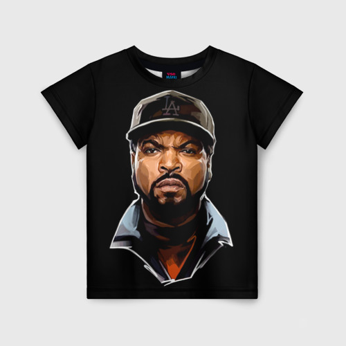 Детская футболка 3D Ice Cube 1