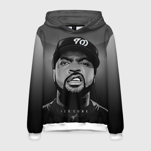 Мужская толстовка 3D Ice Cube 2