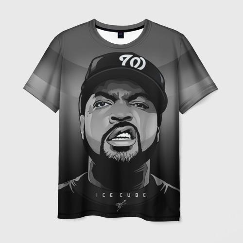 Мужская футболка 3D Ice Cube 2