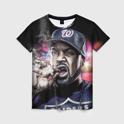 Женская футболка 3D Ice Cube 4