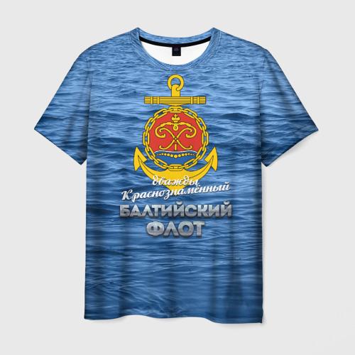Мужская футболка 3D Балтийский флот