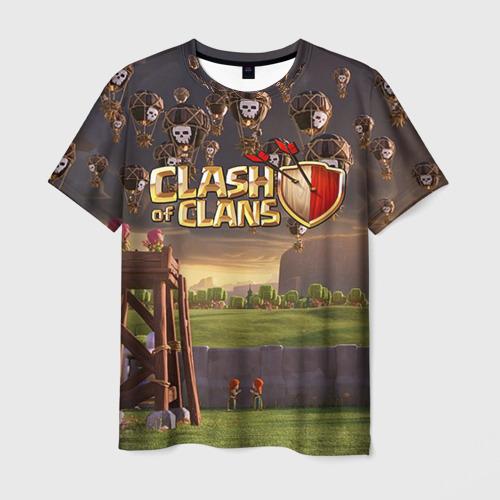 Мужская футболка 3D Clash of clans 3