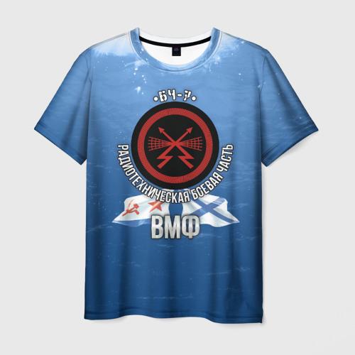 Мужская футболка 3D БЧ-7 Радиотехническая