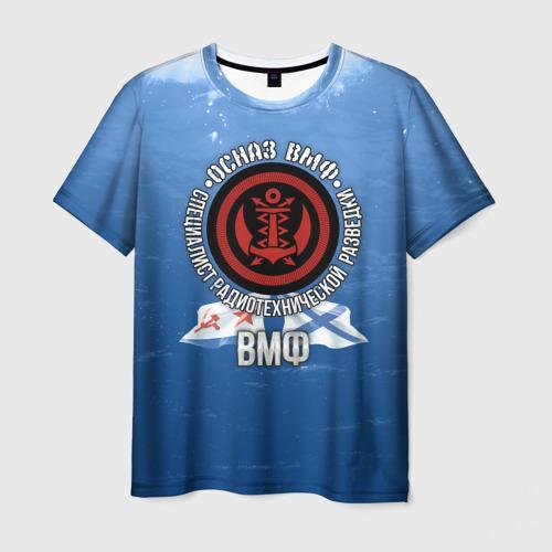 Мужская футболка 3D ОСНАЗ ВМФ