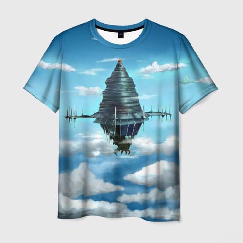 Мужская футболка 3D 100 Floors