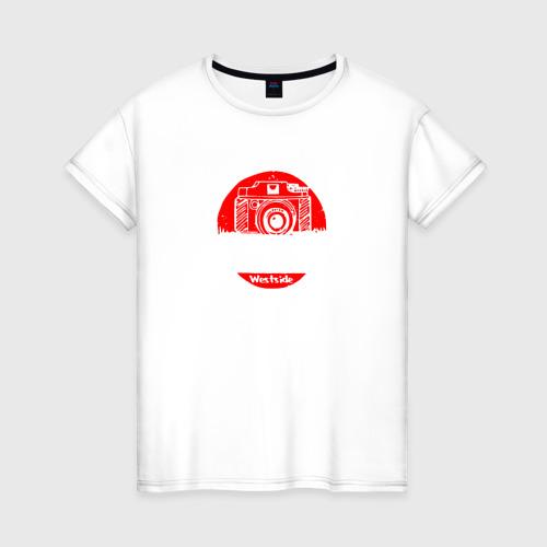 Женская футболка хлопок Journalism
