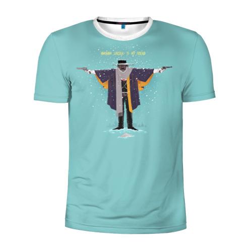 Мужская футболка 3D спортивная Омерзительная восьмерка