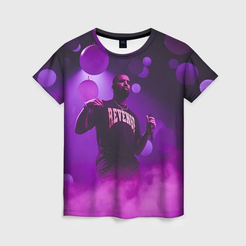 Женская футболка 3D Drake