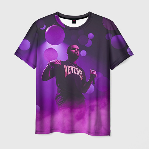 Мужская футболка 3D Drake