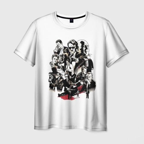 Мужская футболка 3D Бешеные псы