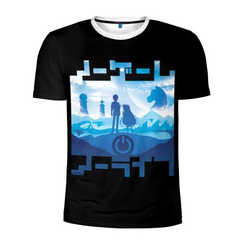 Мужская футболка 3D спортивная Ashente