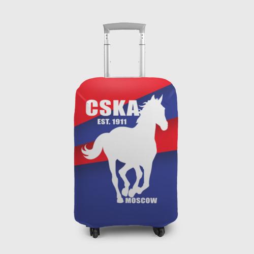 Чехол для чемодана 3D CSKA est. 1911