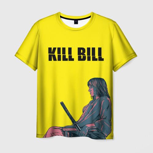 Мужская футболка 3D Убить Билла