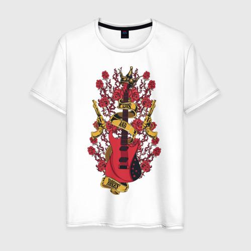 Мужская футболка хлопок Guns'n'Roses