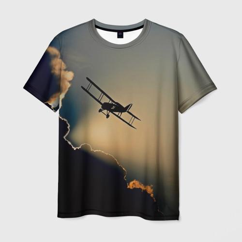 Мужская футболка 3D Покоритель небес