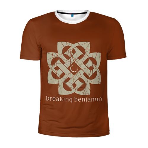 Мужская футболка 3D спортивная BREAKING BENJAMIN