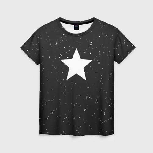 Женская футболка 3D Super Star