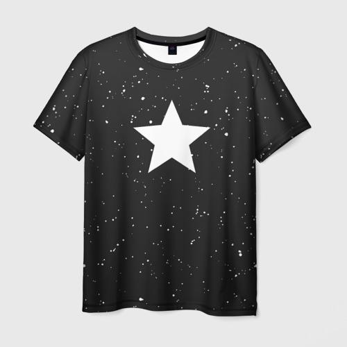 Мужская футболка 3D Super Star