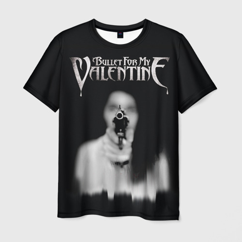 Мужская футболка 3D Bullet For My Valentine