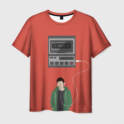 Мужская футболка 3D 13 reason why