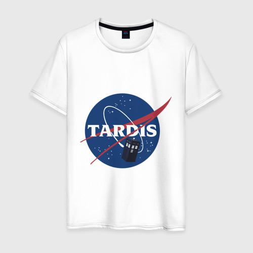 Мужская футболка хлопок Tardis NASA