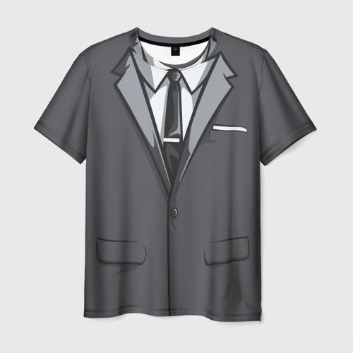 Мужская футболка 3D Костюм