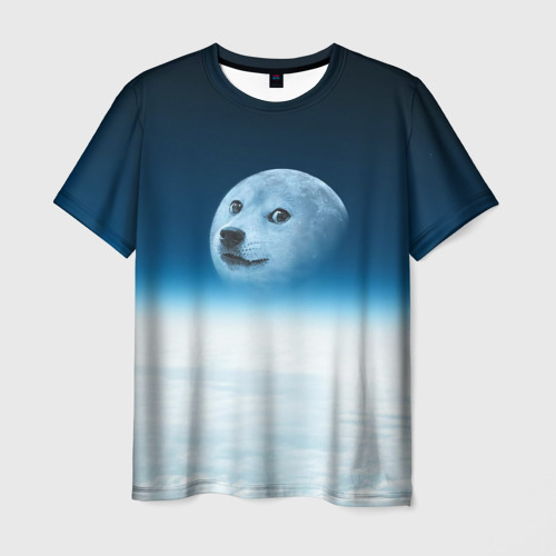 Мужская футболка 3D Doge