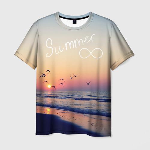 Мужская футболка 3D Summer