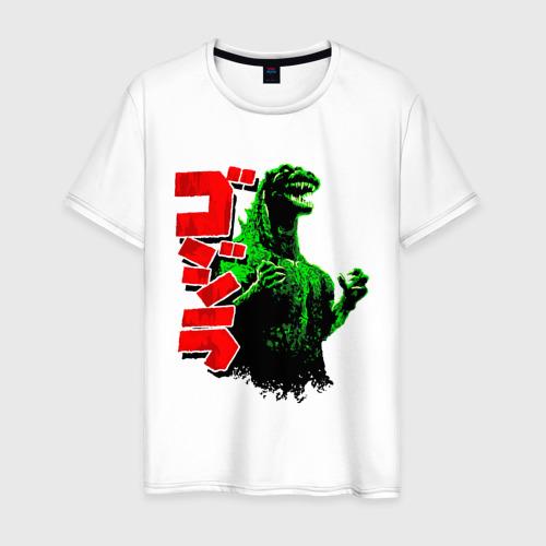 Мужская футболка хлопок Godzilla