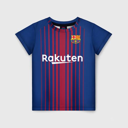 Детская футболка 3D Луис Суарес