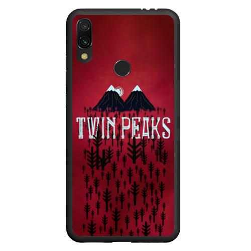 Чехол для Xiaomi Redmi Note 7 Лес Twin Peaks