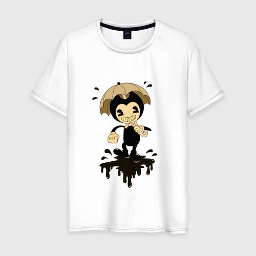 Мужская футболка хлопок Bendy and the ink machine (3)