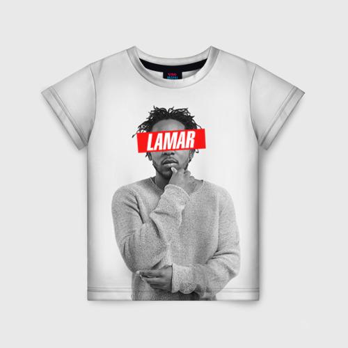 Детская футболка 3D Lamar