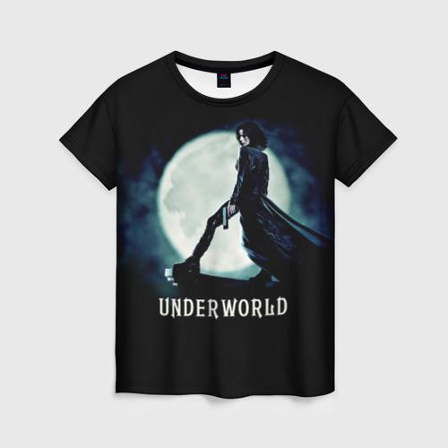 Женская футболка 3D Другой мир
