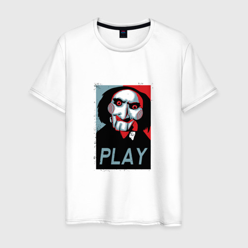 Мужская футболка хлопок Saw Play