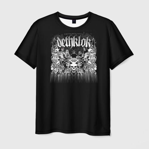 Мужская футболка 3D Metalocalypse (Dethklok) 8