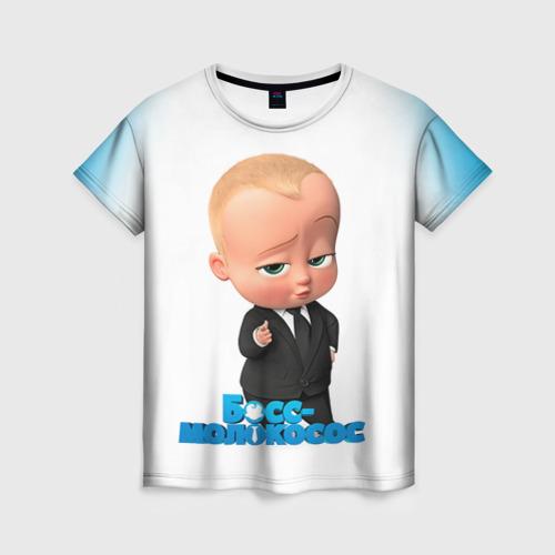 Женская футболка 3D Boss Baby