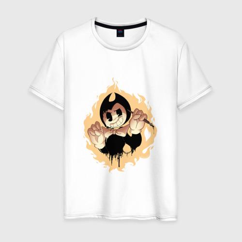 Мужская футболка хлопок Bendy and the ink machine (5)