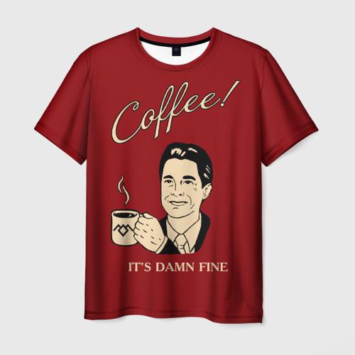 Мужская футболка 3D Coffee