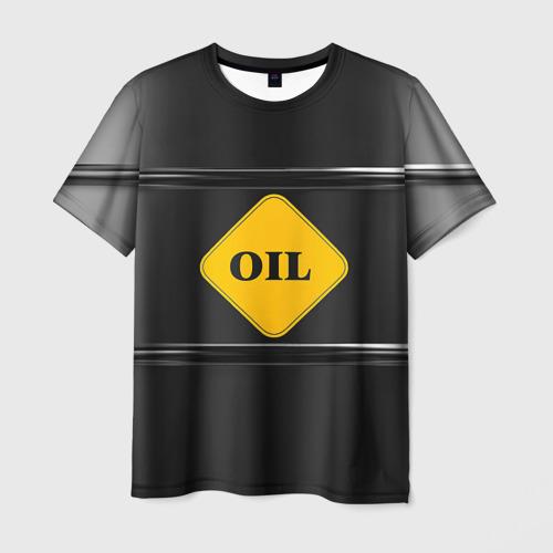 Мужская футболка 3D Oil