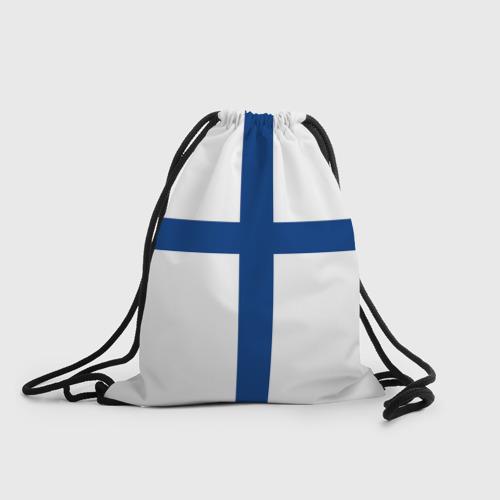 Рюкзак-мешок 3D Флаг Финляндии