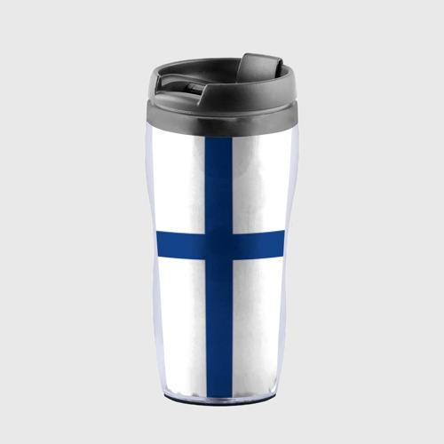 Термокружка-непроливайка Флаг Финляндии