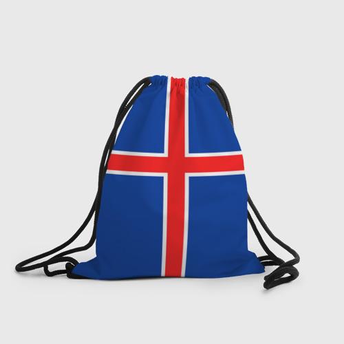 Рюкзак-мешок 3D Флаг Исландии