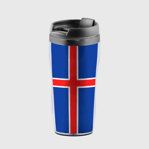 Термокружка-непроливайка Флаг Исландии