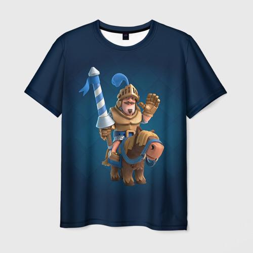 Мужская футболка 3D Clash of royale