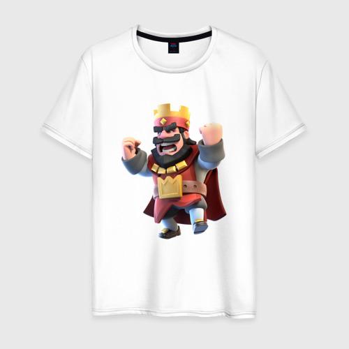 Мужская футболка хлопок Clash of clans