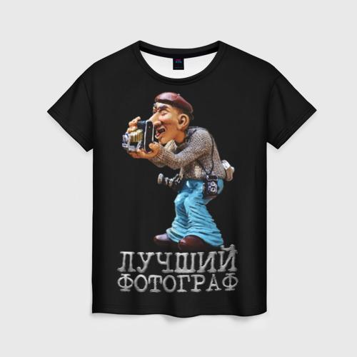 Женская футболка 3D Лучший фотограф